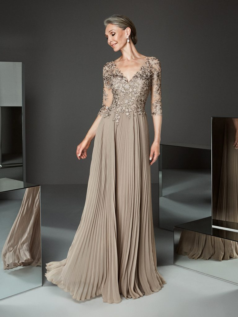 vestido para madrina de boda