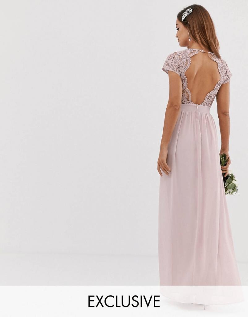 vestido para hermana de los novios