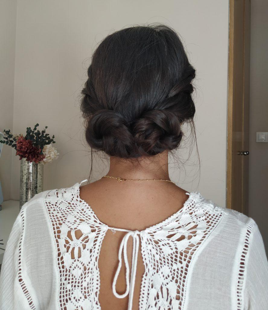 Tutorial peinado para invitada de boda - Recogido Shanghai