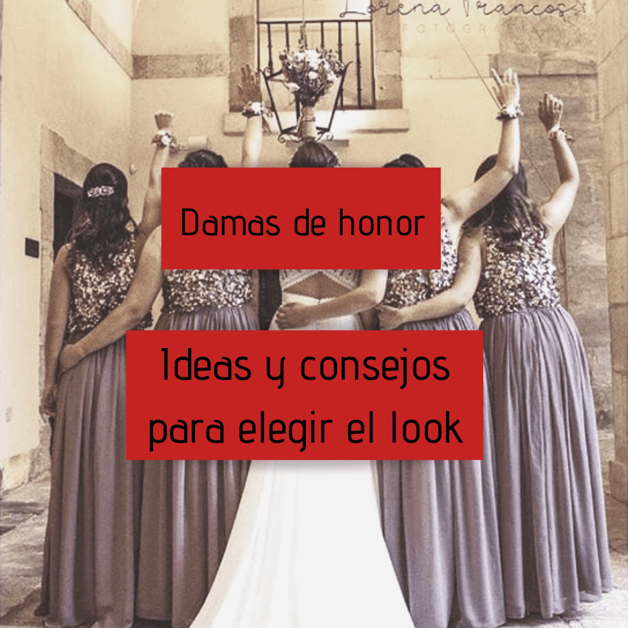 Damas de honor – ideas y consejos para elegir el look
