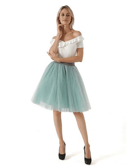 Faldas de tul para boda