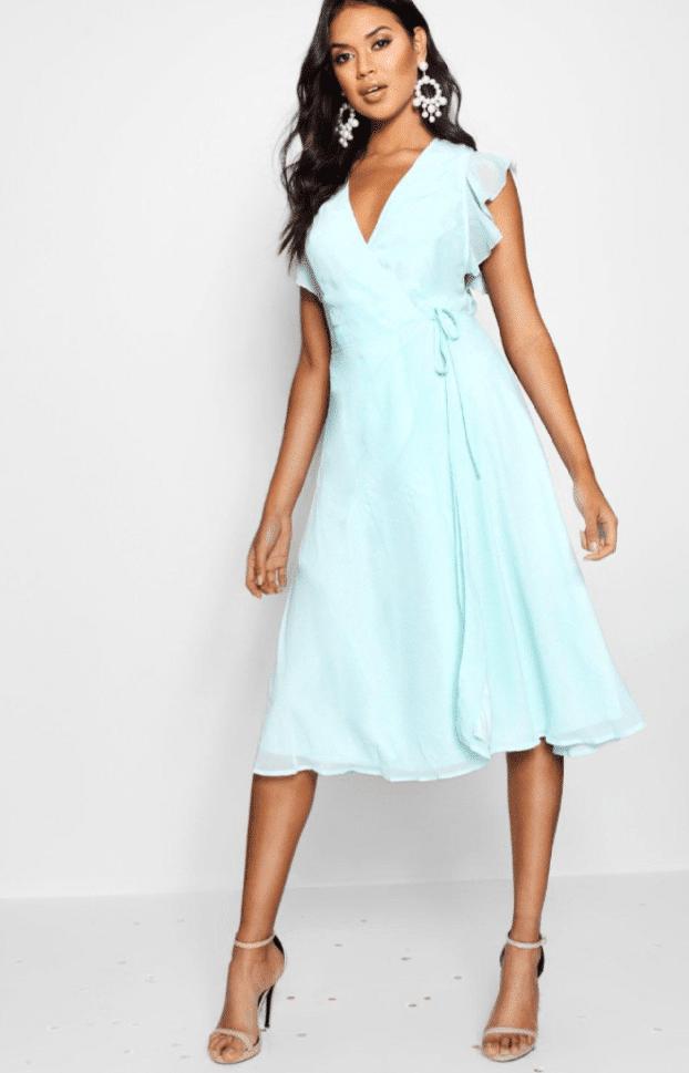 15 vestidos low cost para invitadas de boda – Boohoo 3
