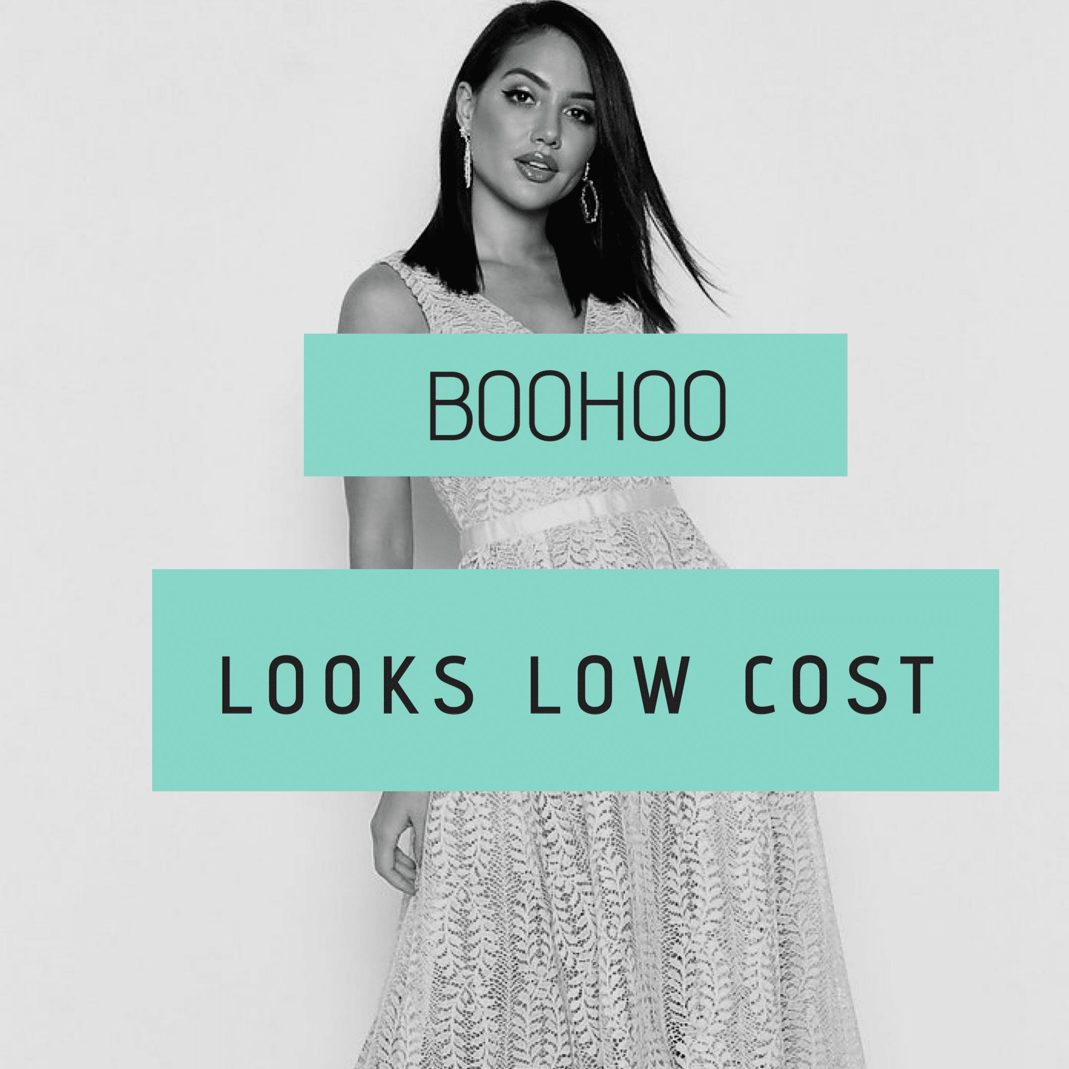 15 vestidos low cost para invitadas de boda- Boohoo