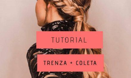 Tutorial peinado trenza + coleta