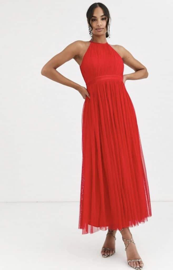 Vestidos rojos para invitadas de boda