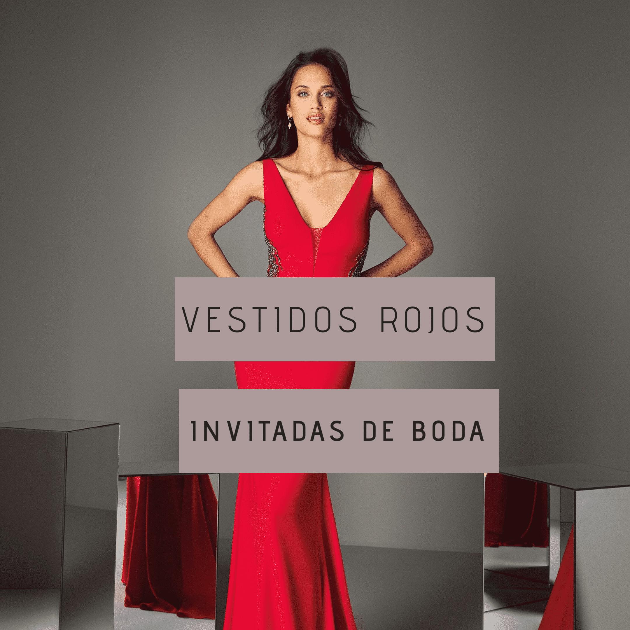 Vestidos rojos para invitadas de boda – La apuesta segura-
