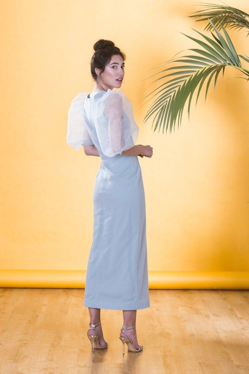 Apparentia – Vestidos con mangas abullonadas para invitadas de boda