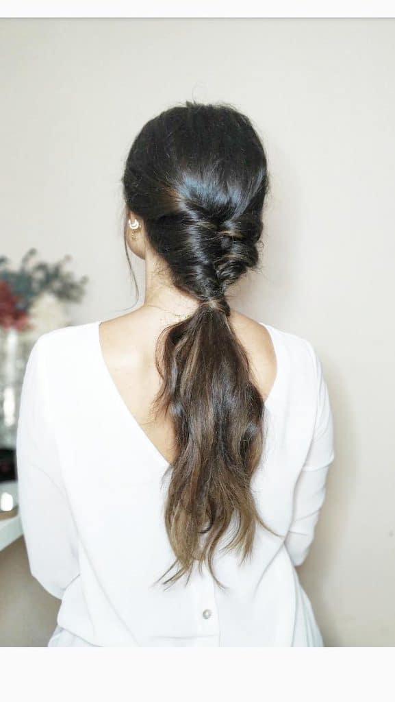 Tutorial de peinado coleta diferente