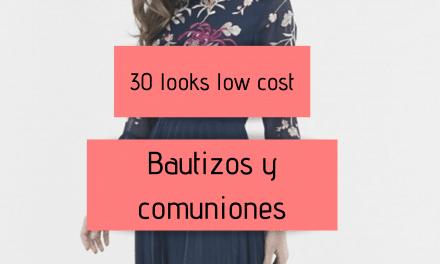 30 looks low cost para bautizos y comuniones