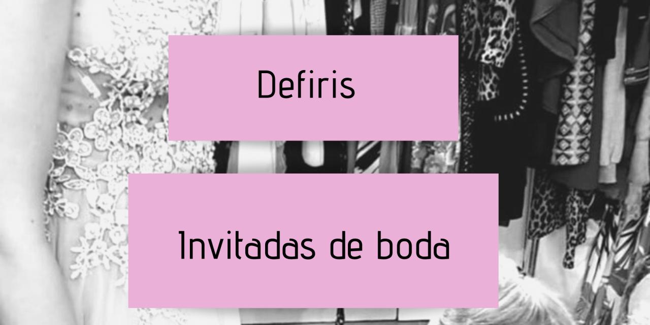 Defiris – vestidos para invitadas de boda