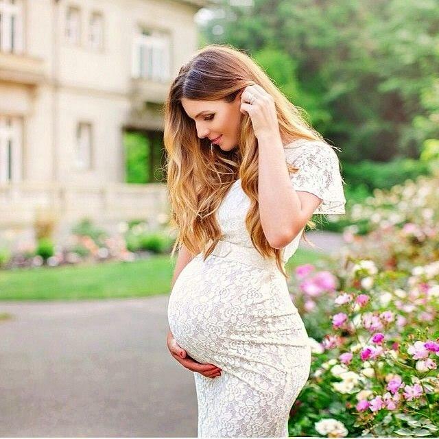 invitadas de boda embarazada