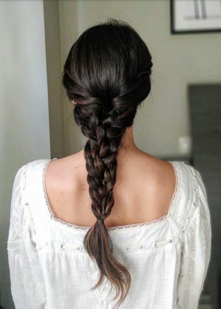 Tutorial de peinado - trenza triple