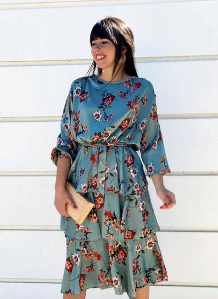 Vestido económico para bautizo y comunión - Mariquita trasquila