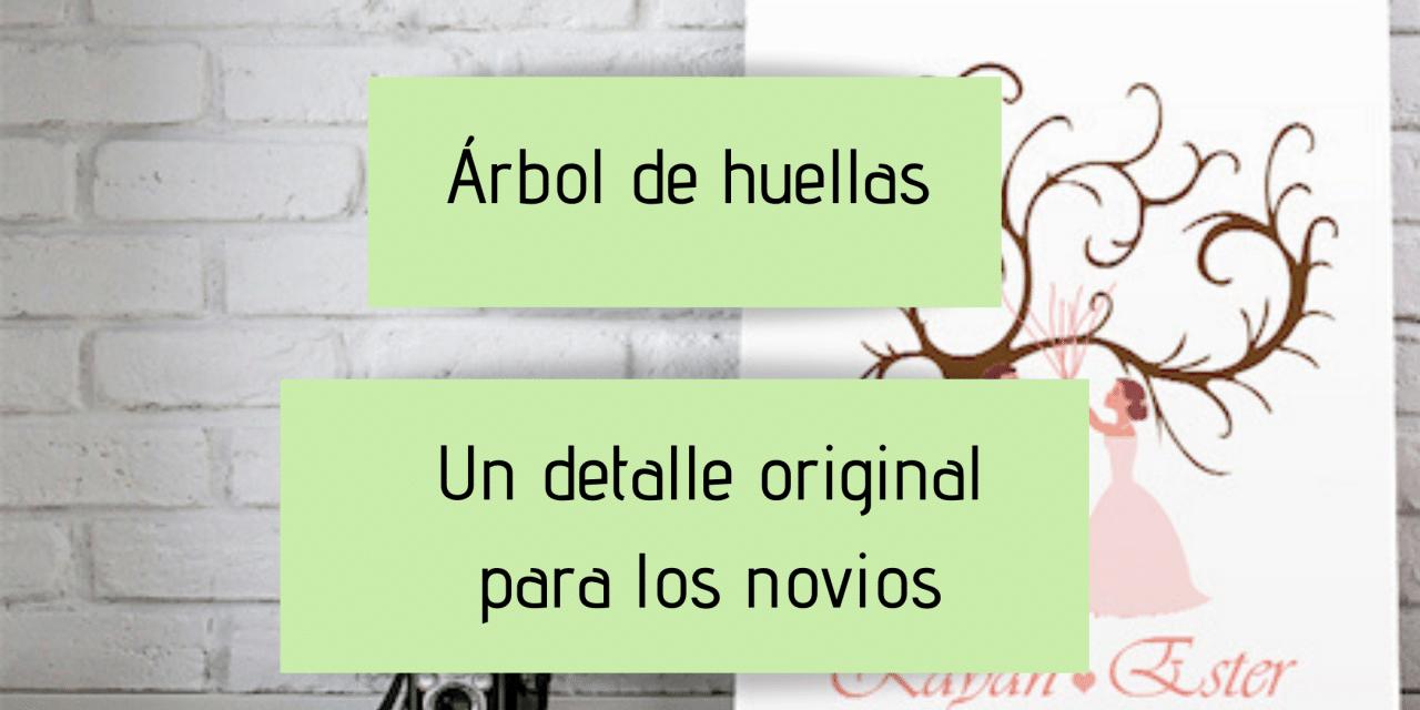 árbol de huellas – un detalle original para los novios