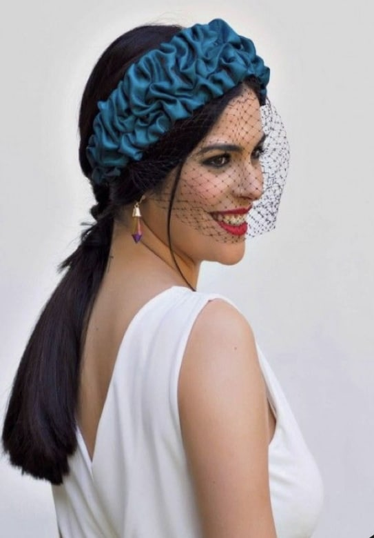 10 peinados para lucir tu diadema de invitada de boda
