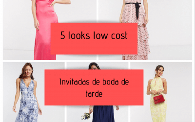 5 looks low cost para invitadas de boda de tarde