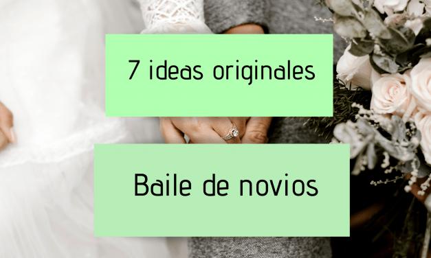 7 ideas originales para el baile de novios