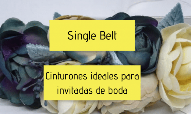 Single Belt – Cinturones ideales para invitadas de boda