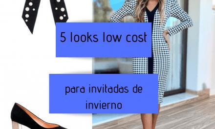 5 looks low cost para invitadas de invierno