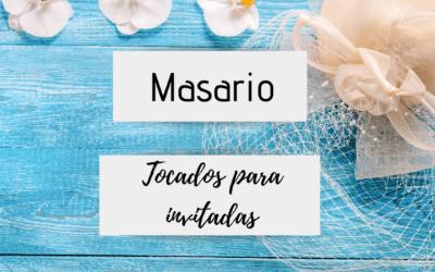 Masario –  tocados para invitadas de boda