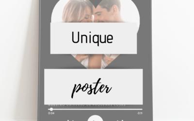 Unique poster – Regalos únicos
